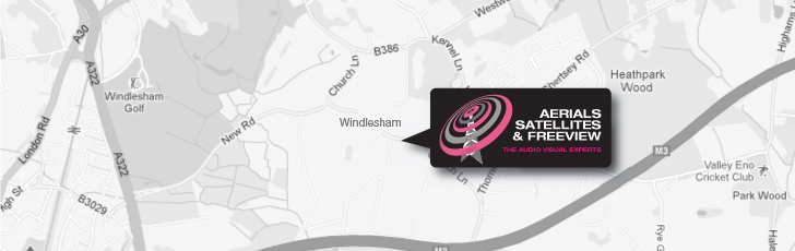 Independent Sky Installations Windlesham GU20 and throughout Surrey