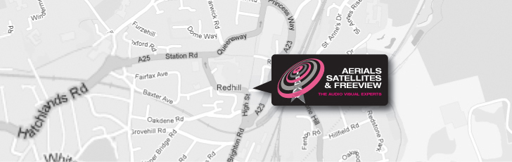 Aerial & Satellite Installation in Redhill RH1 and throughout Surrey