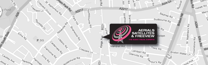 European & International Satellite Systems Clapham Park SW4 and throughout South West London