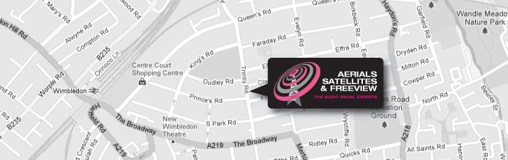 International & European Satellite Systems Come To Wimbledon SW19 and  Throughout South West London